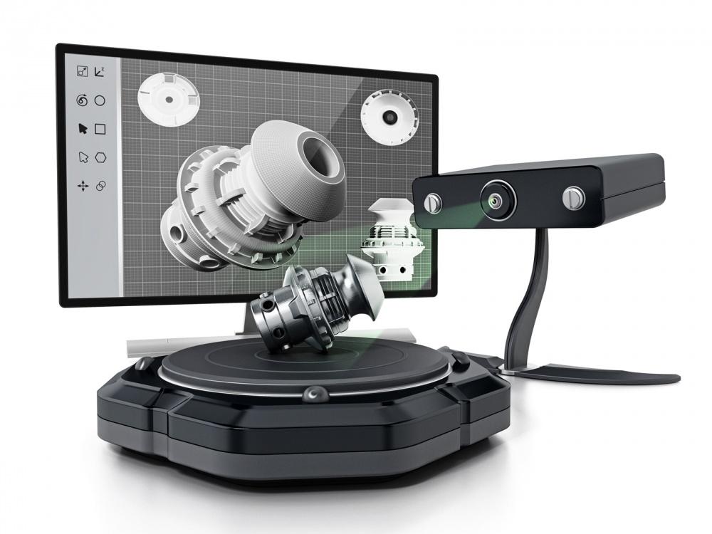 sacnsione 3d oggetti scanner 3d